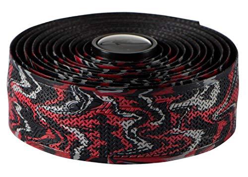 Lizard Skins li9952. WIL-Schleifenband Vorbau Fahrrad Unisex Erwachsene, Rot/Schwarz, 2,5mm