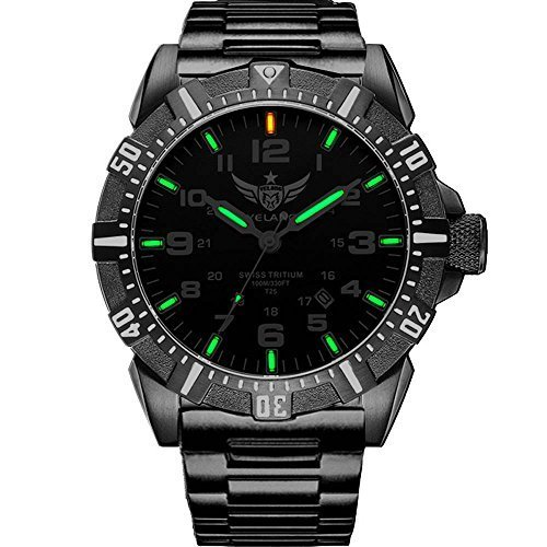 YELANG V1003 steel strap green luminous