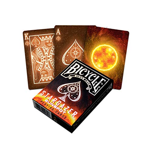 Fournier Stargazer Sunspot, Mazzo di Carte Speciali Unisex-Adult, Lucido, Poker 62.5x88 mm