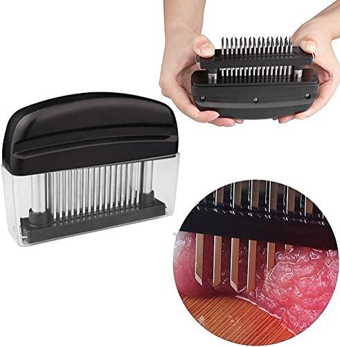 Baker Boutique Meat Tenderizer, 48 Edelstahl Ultra Sharp Nadeln Tenderizer-Tool Nadel, Fleisch Cooking Tools für Tenderzing Rindfleisch, Schweinefleisch, Steaks, Lamm und Grill