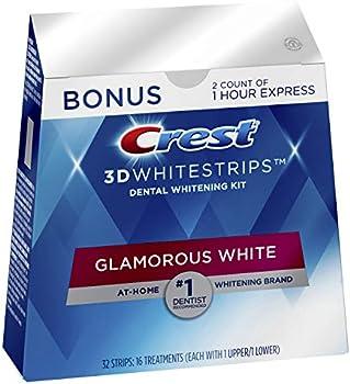 Crest 3D Whitestrips Glamorous Teeth Whitening Kit