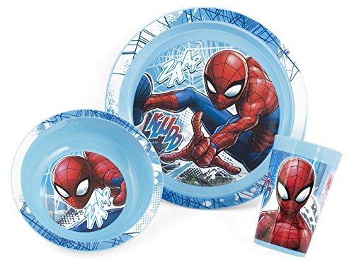 Lulabi Marvel Spiderman, Set pappa per bambini, Plastica, Azzurro