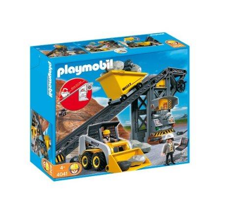 Playmobil 4037 Construction Impianto di Carico Massi Conmini Ruspa