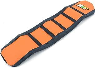 JFGRACING Naranja / Negro agarre piel de la cubierta de asiento de goma suave para 2009-2014 KTM 65 SX Dirt Bike