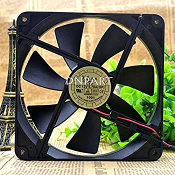 DNPART Compatible for Yate Loon D14BH-12 DC 12V 0.70A 14014025mm 2Pin Cooling Fan