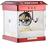 Rosenstein & Söhne Popcornmaschine mit Edelstahl-Topf und 800 Watt (Retro-Popcorn-Maschine) - 3