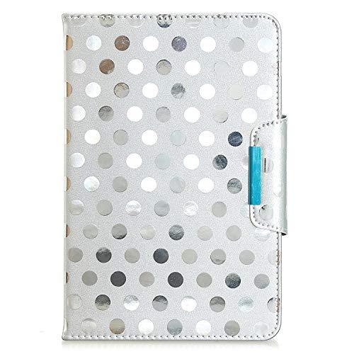 YKTO Universal Folio Hülle für 7,5-8,5 Zoll Tablette, Leder Ständer Schutzhülle für 7,5-8,5