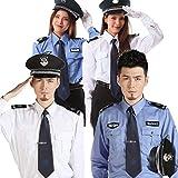 【 本格的 】monoii ポリス コスプレ レディース 警察官 ハロウィン 警察 仮装 コスチューム 警官 制服 コス メンズ b948