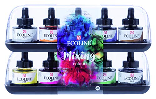 EcoLine Liquid Watercolor 30ml Set of 10 (11259902)