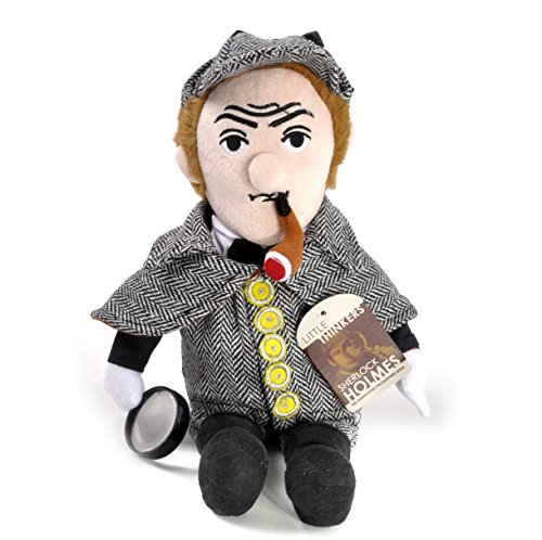 MIK Funshopping Little Thinkers Pluche Pop SHERLOCK HOLMES - Brilliant