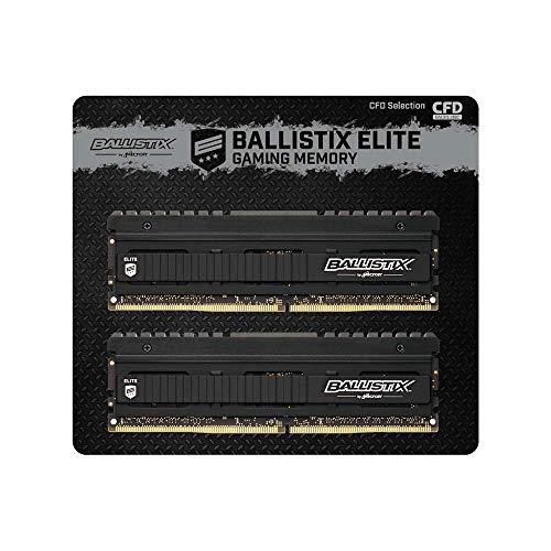 CFD販売 デスクトップPC用ゲーミングメモリ Ballistix Elite PC4-28800(DDR4-3600) 8GB×2枚 288pin 無期限...