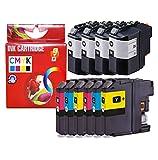 CVT CompraVentaToner - Pack de 10 Cartuchos de Tinta compatibles LC229XL / LC225XL LC 229 / LC 225 para Brother MFC J5320DW, MFC J5600 Series, MFC J5620DW, MFC J5625DW, MFC J5720DW