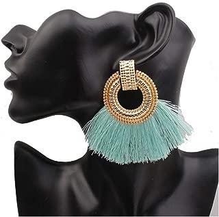 Boho Drop Earrings For Women Tassel Earrings Vintage Dangle Earrings Jewelry