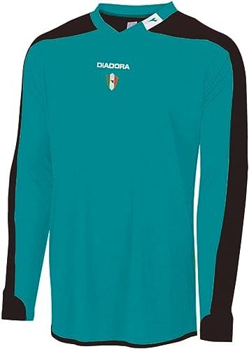 Diadora Boy's Enzo Goalkeeper Jersey Shirt, Teal, YL