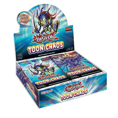 Yu-Gi-Oh TOCHRU Toon Chaos Booster Box Unlimited Edition Display of 24...