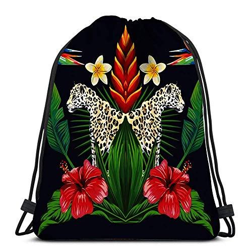 Lsjuee Drawstring Bags Moon Sun and Stars Sports Gym Bag