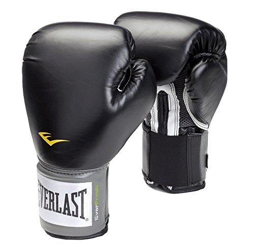 Everlast Pro Style, Guantes de boxeo, Negro, 12 oz