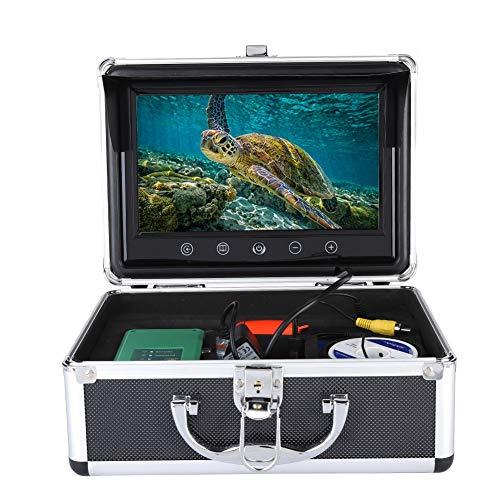 Unterwasserkamera, tragbare 9-Zoll-1000-TVL-LCD-Unterwasserfischsuchsonar-Angelkamera 50M(EU)