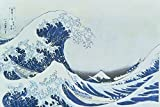 Artland Alte Meister selbstklebendes Wandbild Katsushika