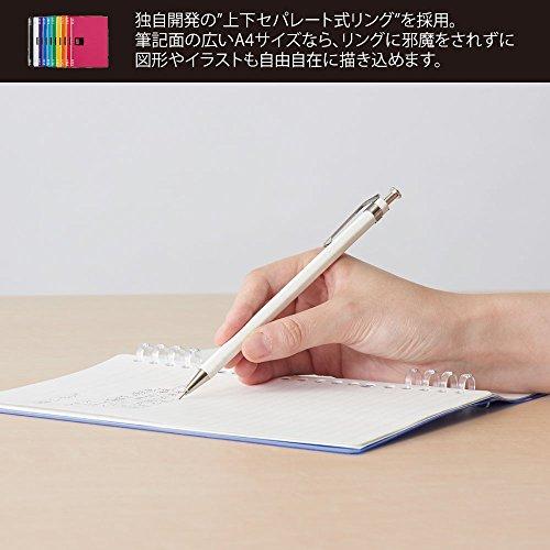 キングジムリングノートテフレーヌA5透明9854TTEトウ