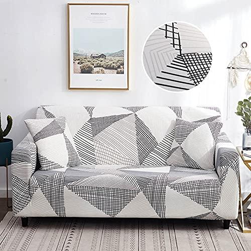 WXQY Juego de sofás Flexibles Funda de sofá Moderna para Sala de Estar, combinación de Esquina, Funda Protectora para Silla en Forma de L, Funda para sofá A10, 3 plazas