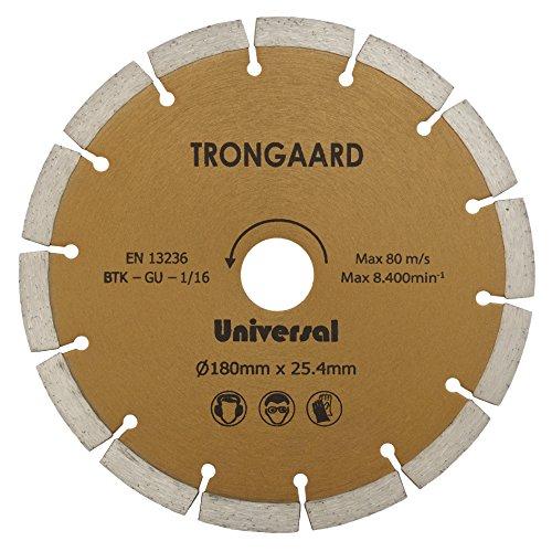 TRONGAARD DIAMANT-TRENNSCHEIBE 180mm/25.4mm - Universal Select