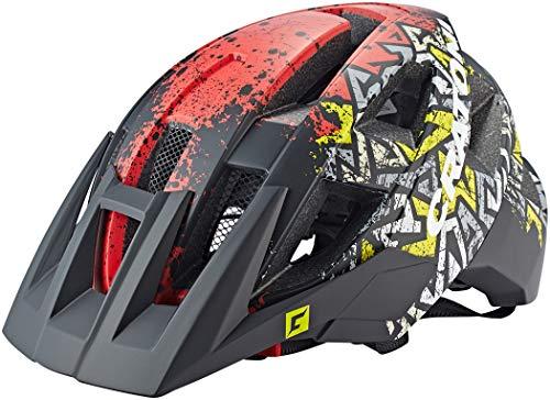Cratoni Casque ALLSET VTT Sauvage/Rouge MAT Taille M/L 58-61 Material des Fahrrads:, Matt Rot S-M