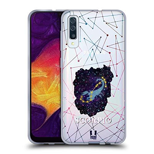 Head Case Designs Skorpion Sternbild Der Sternzeichen Soft Gel Huelle kompatibel mit Samsung Galaxy A50s (2019)