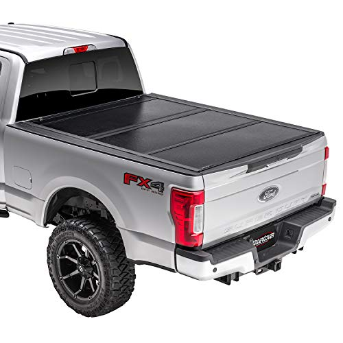 UnderCover Flex Hard Folding Truck Bed Tonneau Cover | FX21021 | Fits 2017 - 2021 Ford F-250/350 Super Duty 6' 10' Bed (81.9')