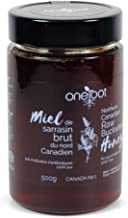 ONEROOT Natural Raw Buckwheat Honey, 500 GR