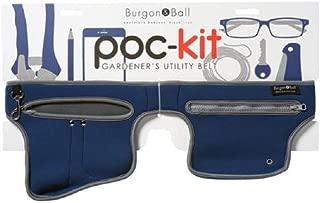 Burgon and Ball Poc-Kit Gardener's Utility Tool Belt in Navy Blue