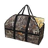 FDR - Borsa per legna da ardere, porta legna da ardere, porta legna da ardere, accessori per stufa a legna (colore: E)