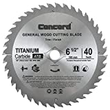 Product Image of the Concord Blades WCB1000T080HP 10-Inch 80 Teeth TCT General Purpose Hard & Soft Wood Saw Blade