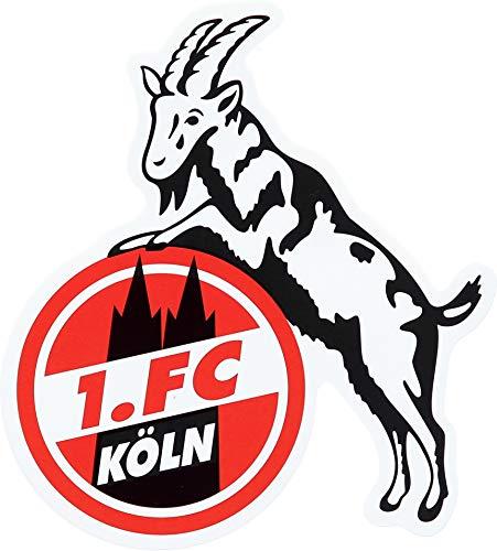 "STICKER AUFKLEBER ""Geißbock"" 1. FC KÖLN 15 cm"