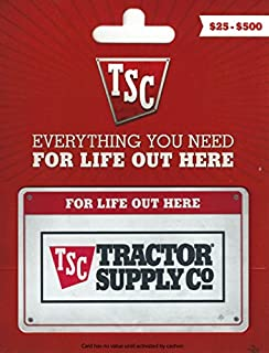 tractor supply gift card
