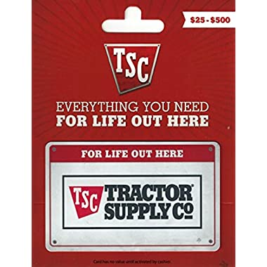 Tractor Supply Company Gift Card $50
