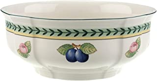 Villeroy & Boch 1022813170 French Garden Fleurence Round Vegetable Bowl, 8.25 in, White/Multicolored
