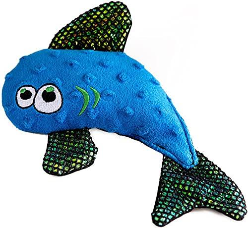 WO Wild Fish Made in The USA Soft Plush Dog &...