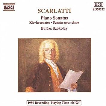 Scarlatti, D.: Piano Sonatas (Selection)