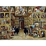 LHON Puzzle Jigsaw 4000 Piezas Pintura Pintura Al óleo Paisaje-Galería De Arte En Bruselas Puzzle Juguetes Antiestrés para Adultos Niños Juegos En El Hogar 86 X 118 Cm / 33,9 X 46,5 Pulgadas