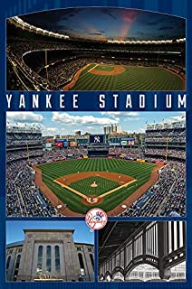 Trends International MLB New York Yankees - Stadium Wall Poster, 22.375