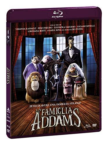La Famiglia Addams - Combo (Br+Dv) + Booklet Gioca & Colora
