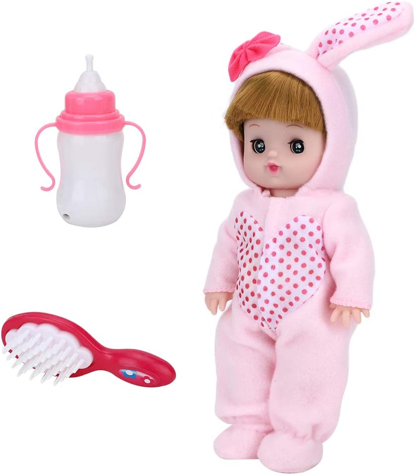 Hatirea Fort Worth Mall Electric Sounding Baby Bottle Crying Toy Japan's largest assortment Laugh and Doll