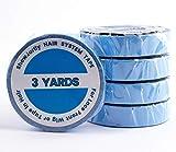 ShowJarlly 1 rollo de cinta adhesiva de doble cara de encaje frontal para peluca, color azul …