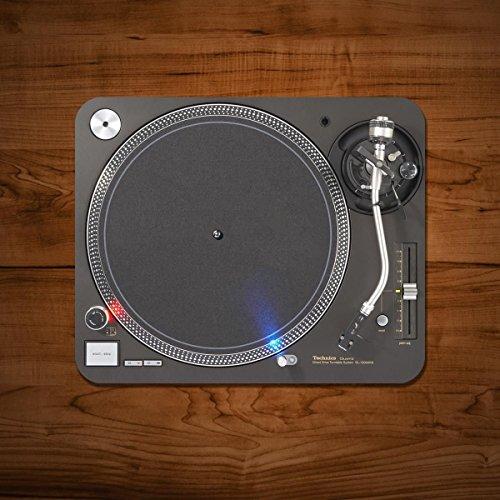 Draaitafel Record Player DJ Mixer Classic Vinyl Grappige PC Computer Muis Mat Pad