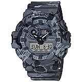 Casio G-Shock Men's GA700CM-8A Gray/Camo One Size