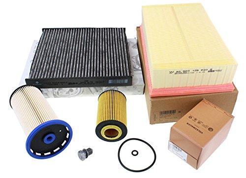 Original TDI Inspektionspaket Filter 1.6L 2.0L Diesel Motor A3 8V Golf 7 Sportsvan Passat 3G A3 8V + Sportback