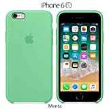 Funda Silicona para iPhone 6 y 6s Silicone Case, Logo Manzana, Textura...