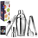 Cocktail Making Set, Cocktail Shakers 6 Pieces Set