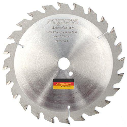 Augusta 051601624–Robusto multiusos metal de sierra circular 160x 2, 5x 20/16con 24dientes...